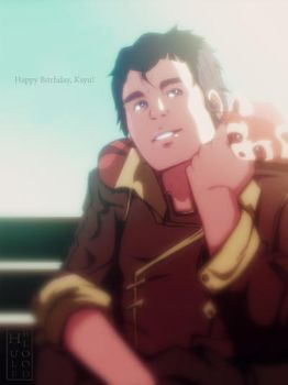 Bolin and Pabu by HulfBlood