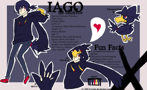 OC Ref: Iago by Lycorise