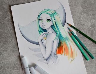 Mermaid For Hire by Lighane