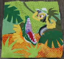 Daring Do - Pony Quilt Project Everfree 2014 by Nazegoreng