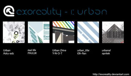 pack 1 - urban by exoreality
