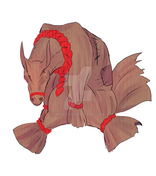 Pillow Horsey by Noioo