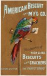 Victorian Advertising - Parrot Crackers by Yesterdays-Paper