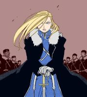 Olivier Armstrong by VioTanequil