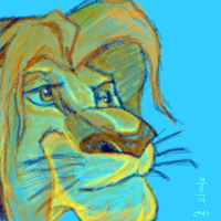 Lion king by Crusnick