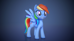 Rainbow Dash by AlligatorSkiesIX