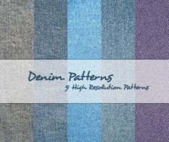 Denim Patterns by powerpuffjazz