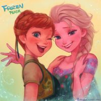 frozen fever by A-KAchen