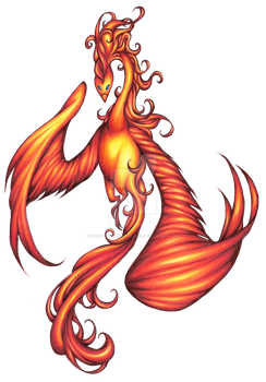 Phoenix Tattoo Request by awildchelseaappeared