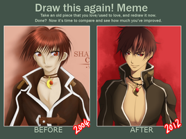 Meme: Draw This Again by tofumi