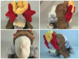 Dimple Entei plush by LRK-Creations