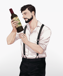 alcoholic captain by yibingling