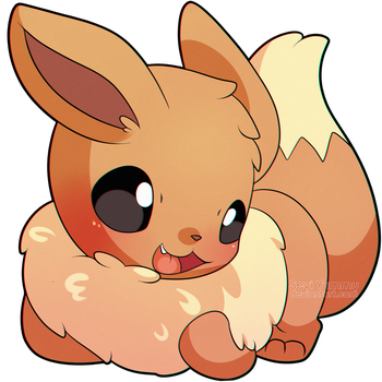 ChibiDex: #133 Eevee by SeviYummy