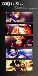 Tag Wall Dragon Ball by ImmortalZero
