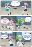 Test Comic Weapons by Kyotita