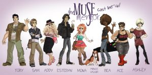 The Muse Mentor - Lineup! by Sephiramy