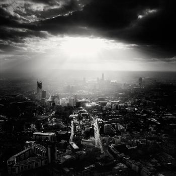 Rays of Light - London by xMEGALOPOLISx