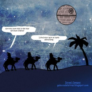 The Three Wise men and the Star by IsraelCampos