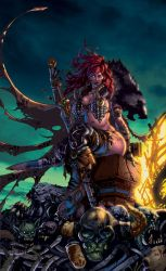 red sonja flats sept by timothy brown XGX by knytcrawlr