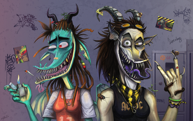 Freaks by RasUmbrosus