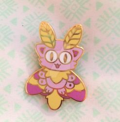Mothcat Pins by LordBoop