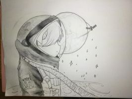 (Unfinished) Astronaut by VliegendeFiets