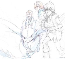 HTTYD J-style by lychi