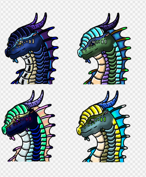 Shaded SeaWing Adopts   -CLOSED- by Icingale