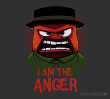 I am the anger by Naolito
