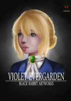 Violet Evergarden by blackrabbitartworks