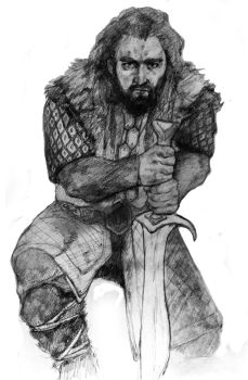 Thorin Oakenshield by Xenelith