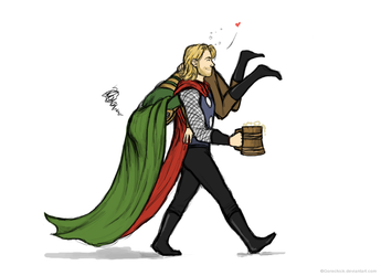 Thor's catch by GoreChick