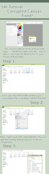 Tutorial - SAI Fix - Failed To Open Canvas. by xRozen-Basesx