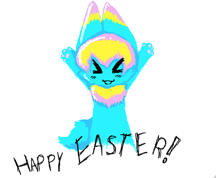 Happy Easter by herpderpfurries