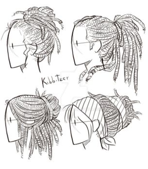Dreadlocks Reference Sheet by Kibbitzer