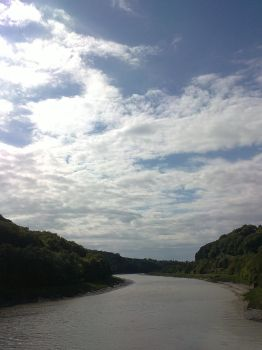 the river severn meandering by dead-pixie