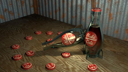 Nuka-Cola 3D StereoGraph. 3D Assets included by Krist-Silvershade