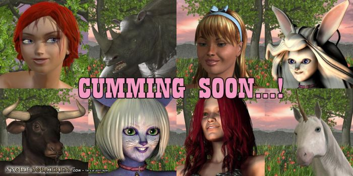 PREVIEW Cumming Soon Banner 1 by StoneSorceress