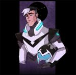 Voltron: Shiro, Black Paladin by carrinth