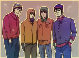 Welcome to South Park by andrahilde