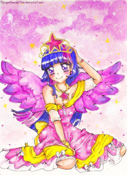 Her Royal Highness, Princess Twilight Sparkle by FlyingCatsandGlitter