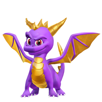 Spyro The Dragon Render by Nibroc-Rock