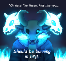 Poketale - On Days Like These...(spoilers) by MiaMaha