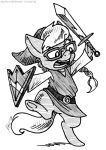 COM: Silvy Is a Zelda by MustLoveFrogs