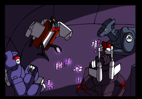 Transformers Mosaic Preview by CoolFireBird