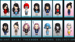 CHIBI FACEBOOK AVATARS by father12345
