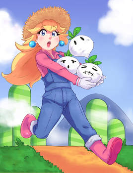 Peachy by akio2a