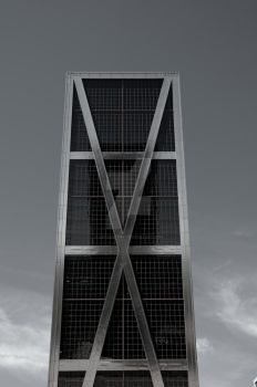 The Skyscrapers of Madrid XI by Astaroth667