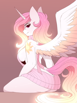 That sweater that all the cool kids are drawing by Evehly
