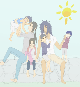 Uchihas by FlyingBacon